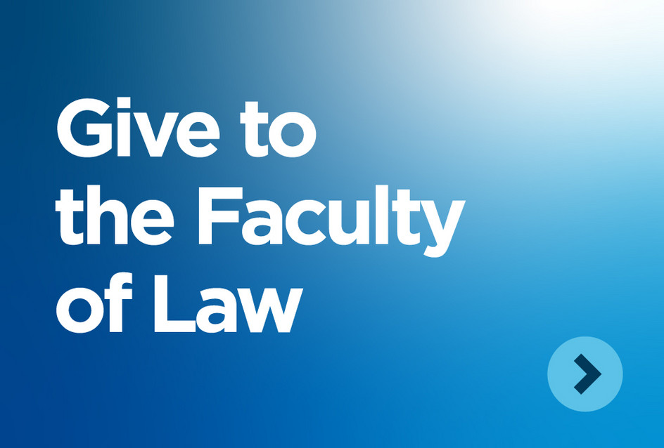 Give to the Faculty of Law