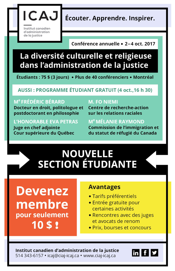le droit de rencontres au Canada